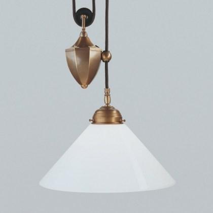 Lámpara Modernista Polea