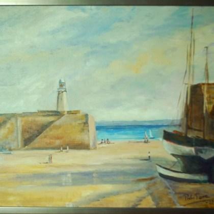 Faro de Trevor, ( 58 x h48 cms )