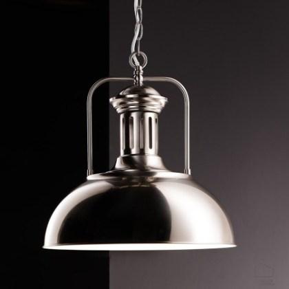 040 Lámpara estilo industrial (varios acabados)