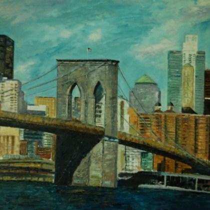 Puente de Brookling, ( 100x70 )