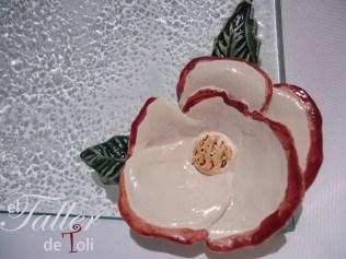 salta mosaiquismo vitrofusion artesania arte flor clases cursos seminario plato centro de mesa