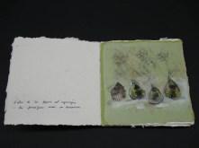 Figues i formigues. llibreta de viatge, Estellencs, Mallorca.Adquirida.