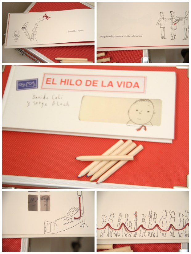 el hilo de la vida collage