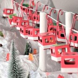 adviento advent christmas calendar decoration copper wall inspiration noel kids handmade creativity