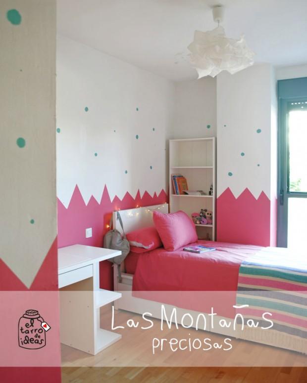 pintar habitación niña