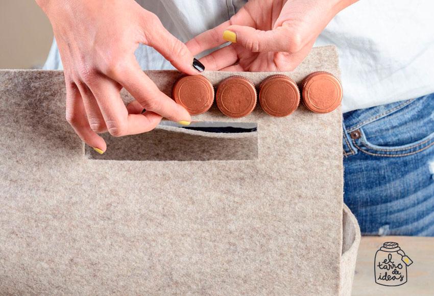 bolso, paso a paso, tutorial, handmade, diy, reciclar, reciclaje, manualidades