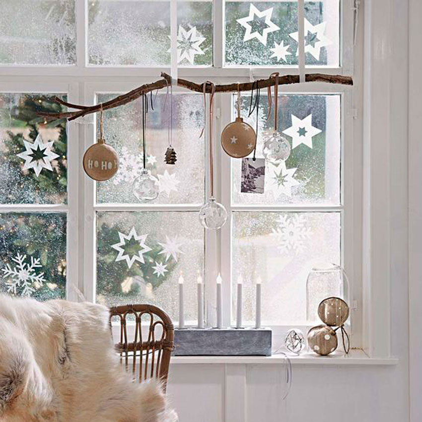 decoracion, ventana, navidad, pintar en cristal, navideño, fiestas, adornos de navidad, decoracion diy, handmade, coronas navidad, estrellas navidad
