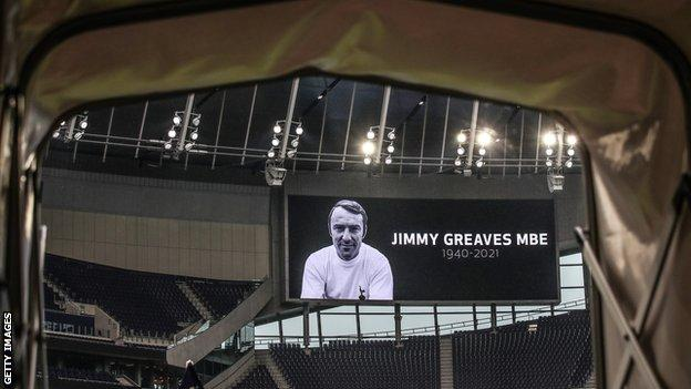 Jimmy Greaves tribute