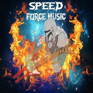 Speed Force Music Original Mandalorian Art Final Product