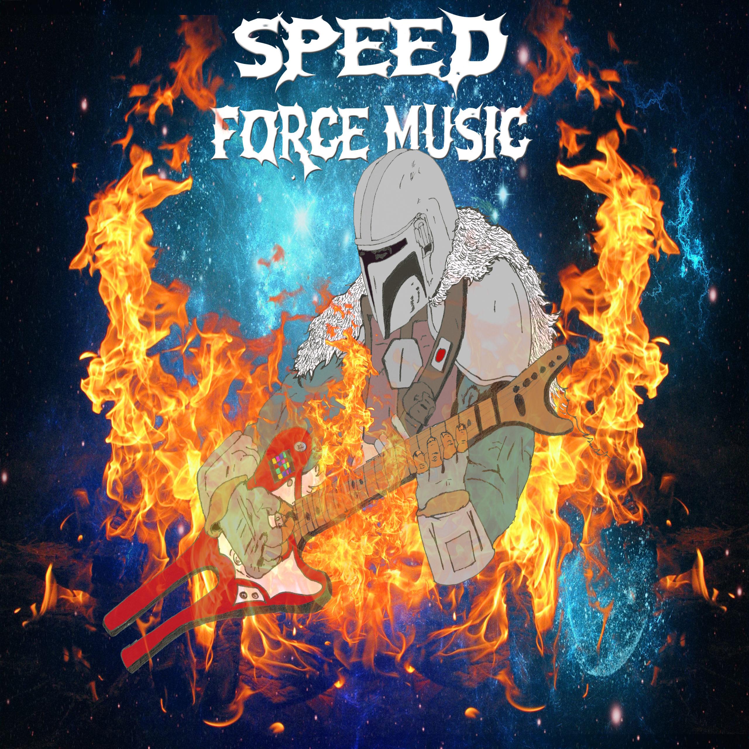 Speed Force Music Original Mandalorian Art Final Product