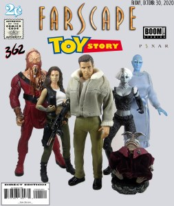 Farscape Comic Cover Toys