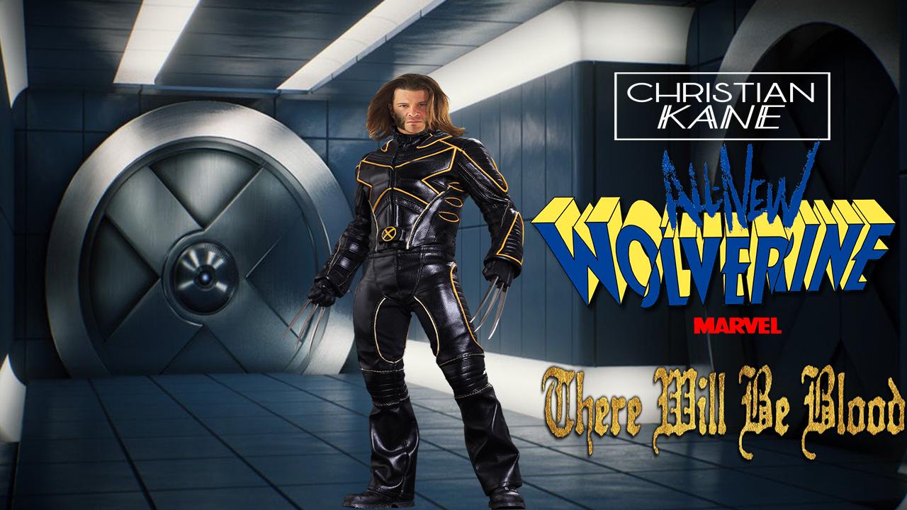 Fan Photoshop Edit of Christian Kane as New Wolverine