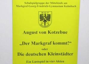 August von Kotzbue: Der Markgraf kommt.