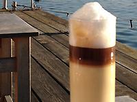In Ruhe den Kaffee geniessen...