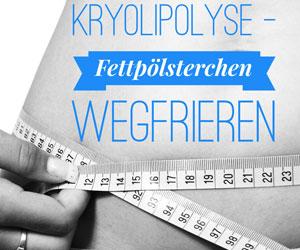 Kryolipolyse - Hartnäckige Fettpölsterchen wegfrieren