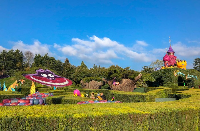 Disneyland Paris, Alice im Wunderland Labyrinth