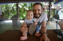 Mittagessen mit Papa