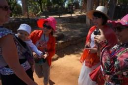 und schon wieder entzückt Eva chinesische Touristen