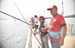 El Pirá Pytá tuvo un fin de semana a pura pesca