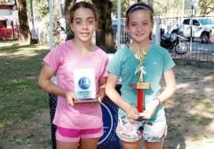 Los menores misioneros se lucieron en el regional de tenis