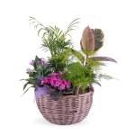 cesta flores