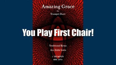 Amazing Grace Trumpet Play-Along