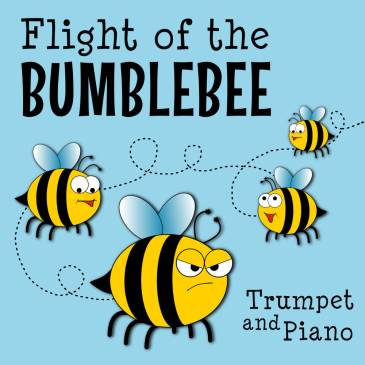 Easy Flight of the Bumblebee for Trumpet (Level 2)