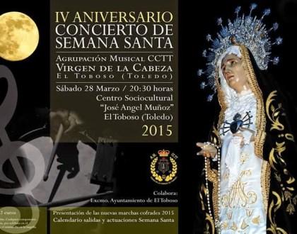 Música sacra y cofrade en el pórtico de la Semana Santa de El Toboso