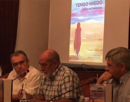 «Aure», libro del misionero toboseño Miguel Ángel Lozano