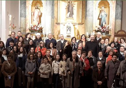 Varios coros parroquiales cantan «las misericordias del Señor» en El Toboso
