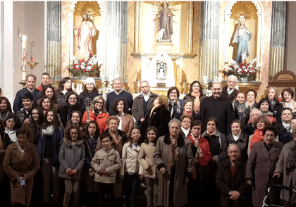 Varios coros parroquiales cantan «las misericordias del Señor» en El Toboso