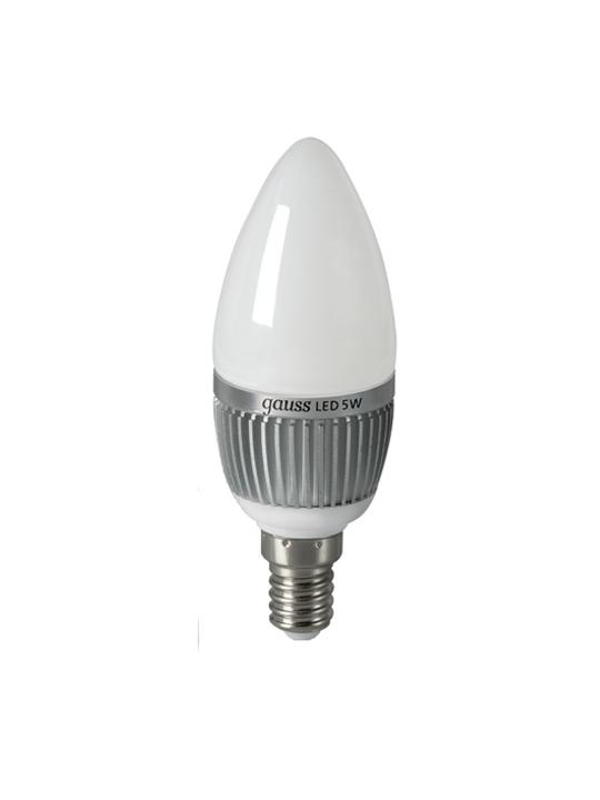 Gauss 5W E14 220V B35 510lm 4100K LED sijalica