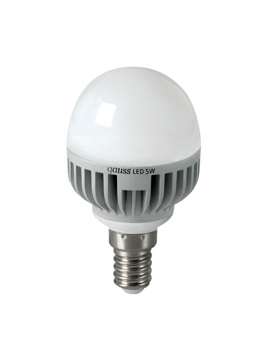 Gauss 5W E14 220V T45 490lm 2700K LED sijalica