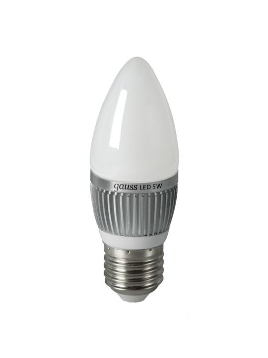 Gauss 5W E27 220V B35 510lm 2700K LED sijalica
