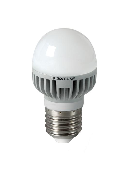 Gauss 5W E27 220V T45 490lm 4100K LED sijalica