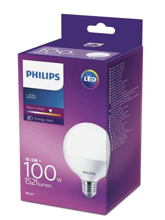 PHILIPS 15W E27 220V G93 1521lm 2700K MAT GLOBE CORE PRO LED sijalica - 00106 90 000