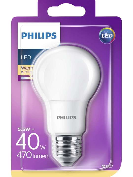 PHILIPS 5.5W E27 220V A55 470lm 2700K MAT CORE PRO LED sijalica - 00106 91 000
