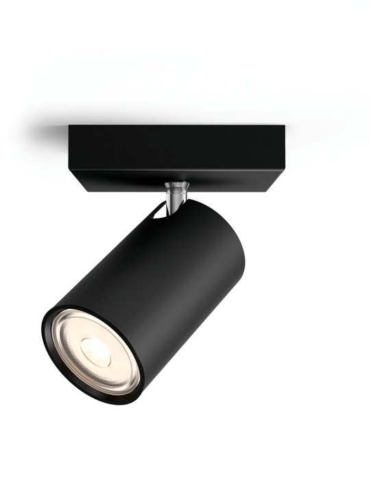 PHILIPS KOSIPO 1xGU10 CRNA spot lampa - 5059130PN - 2