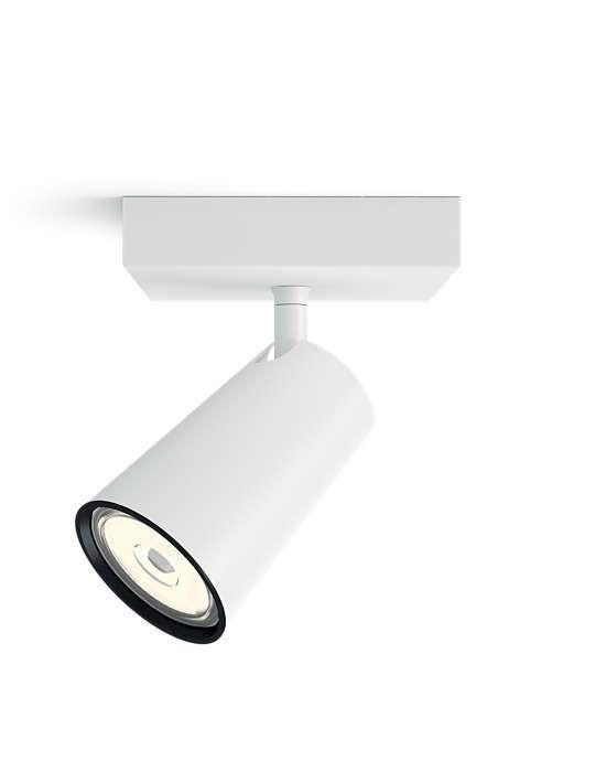 PHILIPS PAISLEY 1xGU10 BELA spot lampa - 5057131PN - 2