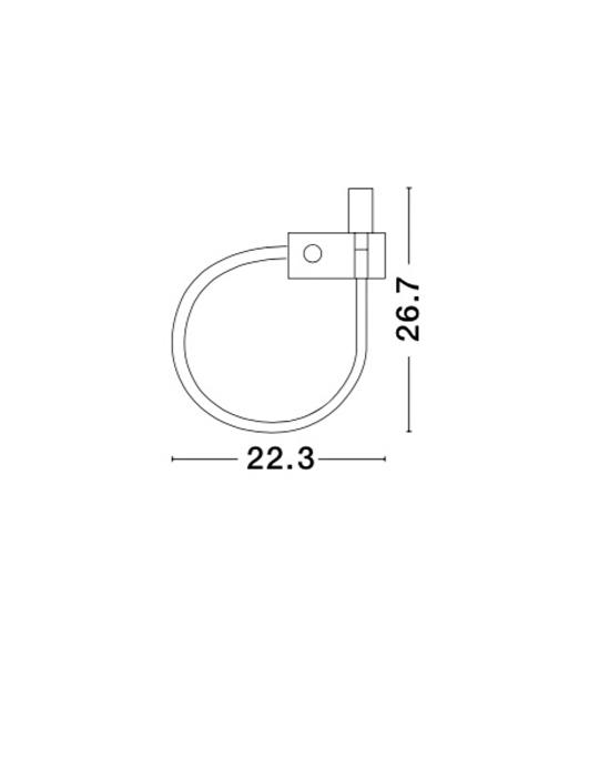 NOVA LUCE GENEVA zi - 2dna lampa - 8126582