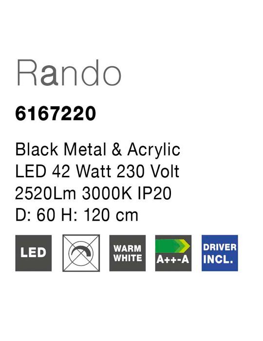 NOVA LUCE RANDO luster - 6167220 - 3