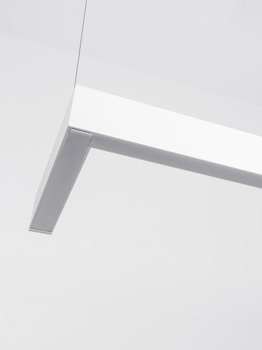 NOVA LUCE nadgradna ugaona lampa DIDO - 8254441