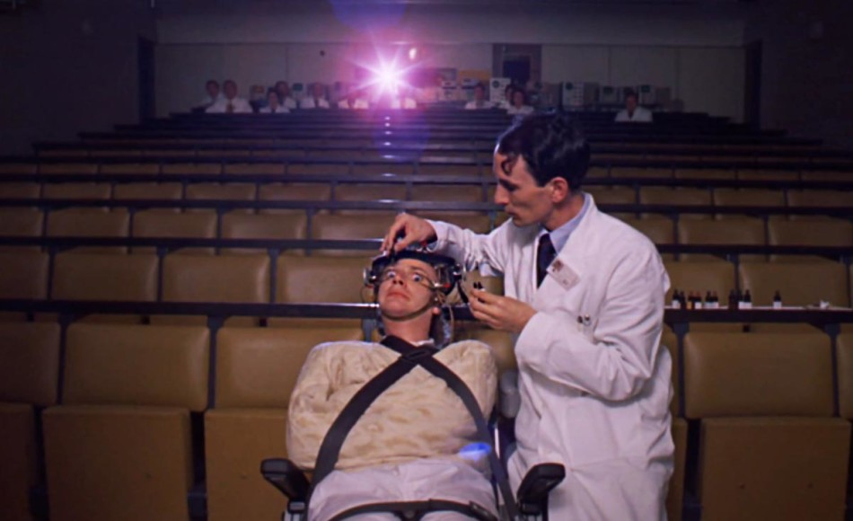 La naranja mecnica  Stanley Kubrick 1971  El tornillo