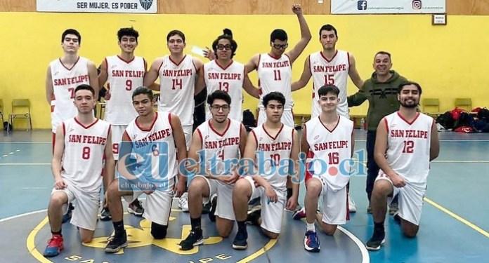 San Felipe Basket compite por primera vez en su historia en el Campioni del Domani.