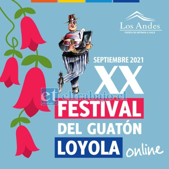 La vigésima versión de Festival del Guatón Loyola será el próximo 28 de septiembre en el Parque Urbano, con aforo acotado de 400 personas, el que será grabado y transmitido por redes sociales y la televisión local.
