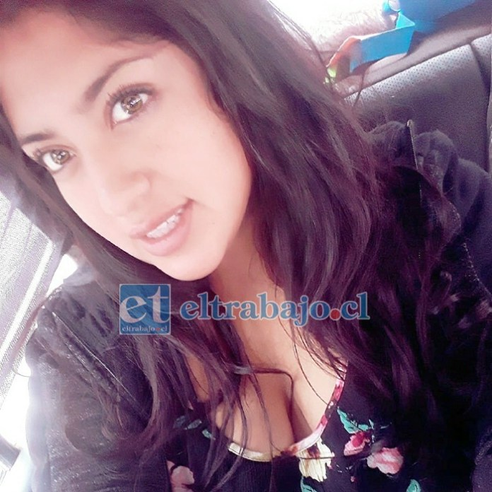 LA VÍCTIMA.- Valeria Ortiz Oyarzún, asesinada la noche del 29 de marzo en Algarrobal.