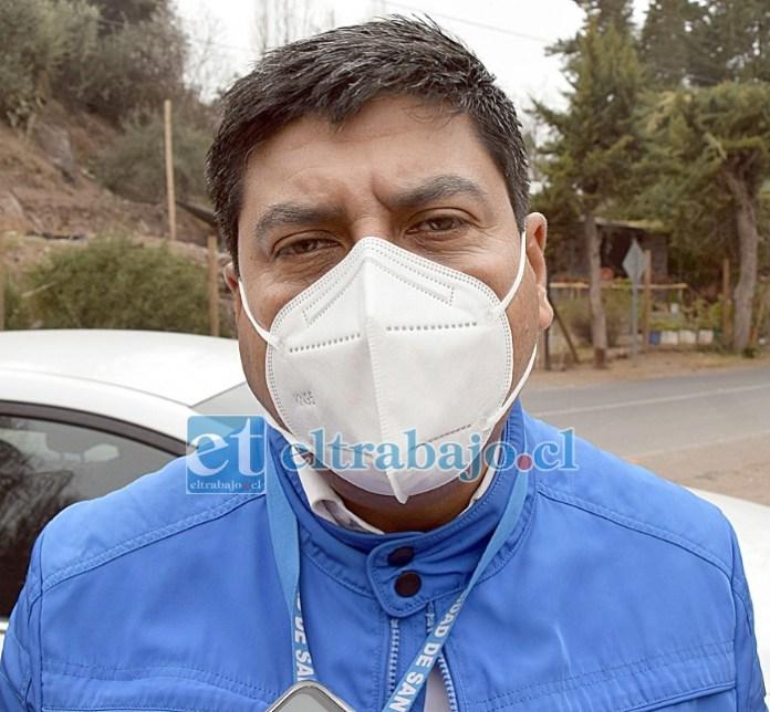 Manuel León, alcalde de Santa María: Tranquilo, pero no contento con el acuerdo.