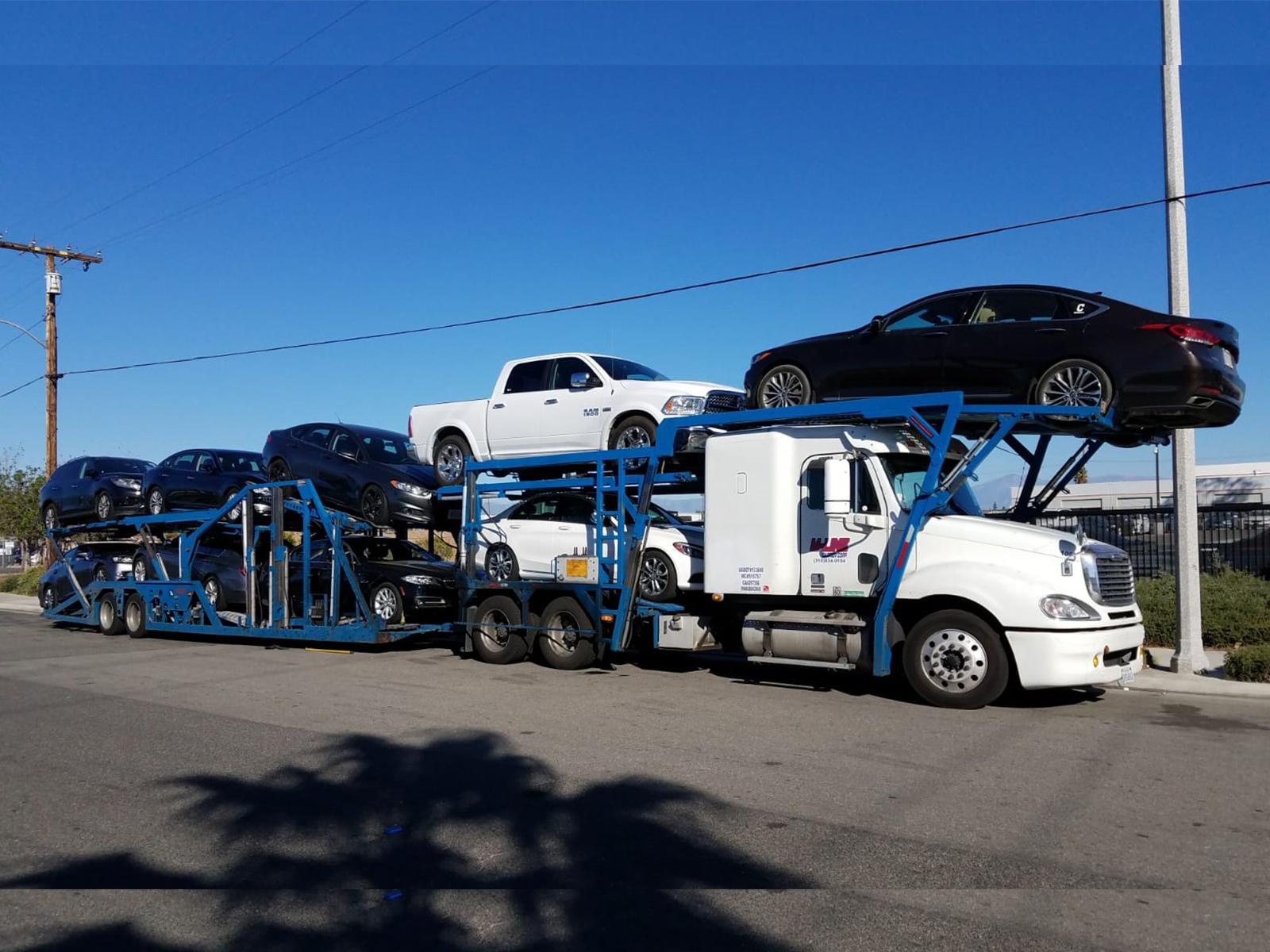 hight resolution of 2010 frht columbia w 9 car auto hauler