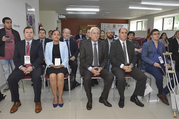 El vicegobernador en la apertura del 1er Foro de Exportadores de Atacalar