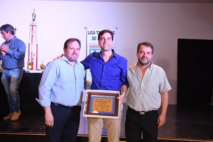 Mukdise entregó los premios de la Liga Termense de Fútbol